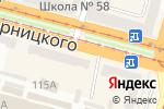 Схема проезда до компании ФАІНА в Днепре