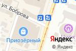 Схема проезда до компании D & P Perfumum в Днепре