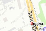 Схема проезда до компании Шиномонтажная мастерская в Днепре