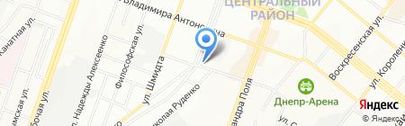 АксонЭКО на карте Днепропетровска