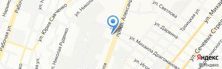 КВД на карте Днепропетровска