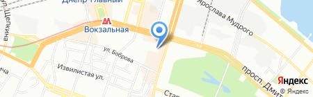 Комфорт на карте Днепропетровска