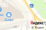 Схема проезда до компании ПУЗАТА ХАТА в Днепре