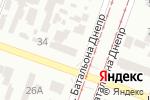 Схема проезда до компании OISPlace в Днепре