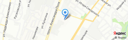 Лиор на карте Днепропетровска