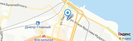 Грандекс на карте Днепропетровска