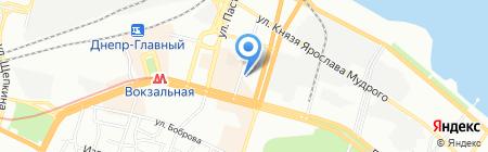 MobiMan на карте Днепропетровска