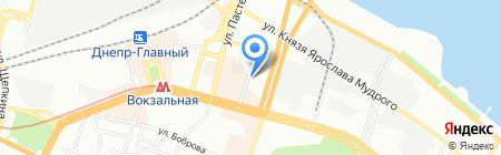 ОНИКС ЧП на карте Днепропетровска