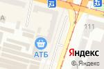 Схема проезда до компании Банкомат, Райффайзен Банк Аваль, ПАО в Днепре