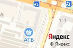 Схема проезда до компании Магазин косметики и парфюмерии в Днепре