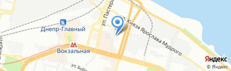 Pool-Intex на карте Днепропетровска