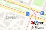 Схема проезда до компании Студия заточки в Днепре