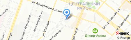 Хоссейни А.А. ЧП на карте Днепропетровска