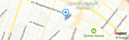 Технологии Генерации Инсталляции на карте Днепропетровска