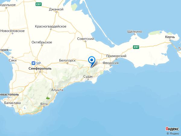 коттеджный поселок Лесная поляна на карте
