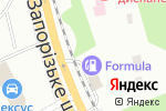 Схема проезда до компании Автосервис в Днепре