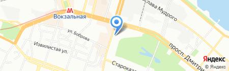 Твои обои на карте Днепропетровска