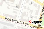 Схема проезда до компании Велосервис в Днепре