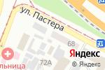 Схема проезда до компании Смоленский инструмент в Днепре