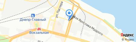 Тест ЧП на карте Днепропетровска