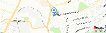 КИТ на карте Днепропетровска