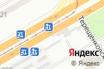 Схема проезда до компании Клевое место в Днепре
