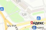 Схема проезда до компании McDonald`s в Днепре