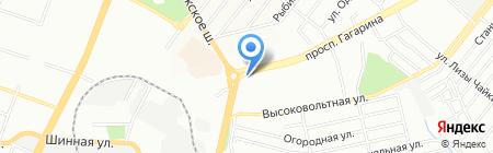 Колбасные изделия на карте Днепропетровска