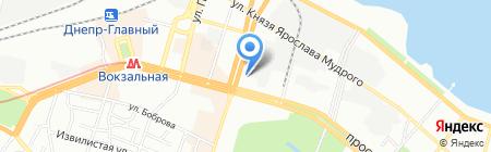 ИВАННА на карте Днепропетровска