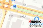 Схема проезда до компании UniCredit Bank в Днепре