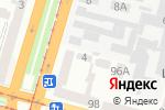 Схема проезда до компании БЕЗ ХИМИИ в Днепре