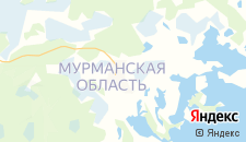 Отели города Ловозеро на карте