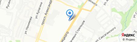 Тандэм на карте Днепропетровска