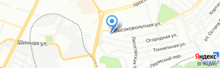 Південтехногруп ТОВ на карте Днепропетровска