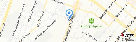Beni di Lusso на карте Днепропетровска