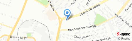 ЛАВАНДА на карте Днепропетровска