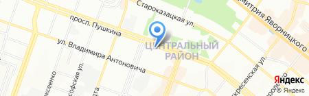 Ткани на карте Днепропетровска