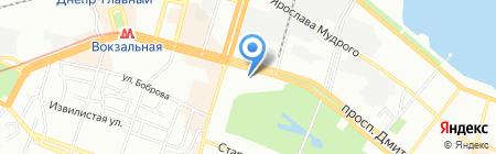 GSM Server на карте Днепропетровска