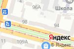 Схема проезда до компании ЦентрОптика в Днепре