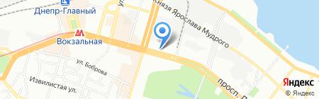 Zepter на карте Днепропетровска