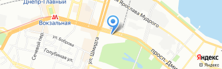 РВХ сервис на карте Днепропетровска