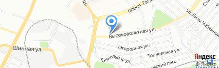 Середня загальноосвітня школа №20 на карте Днепропетровска