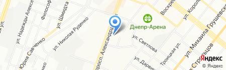 Печник-Днепр ЧП на карте Днепропетровска