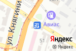 Схема проезда до компании SUBARU в Днепре