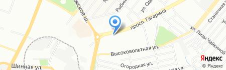 Рондо на карте Днепропетровска