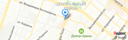 HAPPY END на карте Днепропетровска