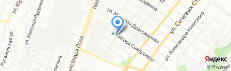 Фито Spa-студия Татьяны Поляковой на карте Днепропетровска