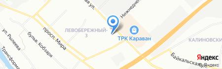 Весна-трансэкспо ЧП на карте Днепропетровска