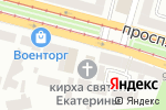 Схема проезда до компании Евангельско-Лютеранская церковь Святой Екатерины в Днепре