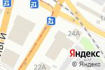 Схема проезда до компании Шафран в Днепре